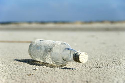 Bottle at Beach