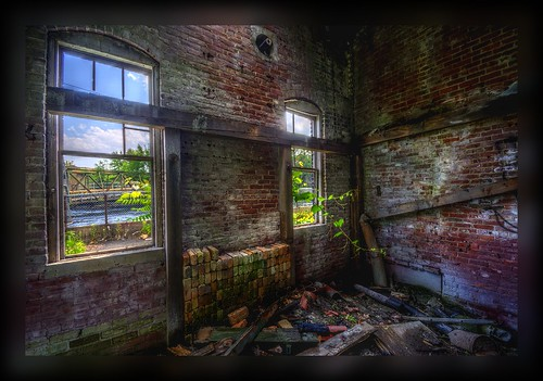light brick abandoned trash ma decay massachusetts ruin gimp hdr photomatix qtpfsgui