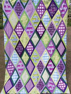 Tufted Tweets quilt