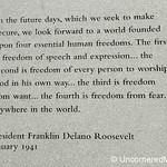 FDR's Four Freedoms - Scranton, Pennsylvania