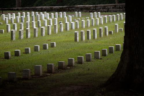 cemetery tennessee civilwar battlefield 1862 tombstones shiloh battlefields