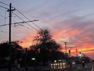 Comm Ave. Sunset