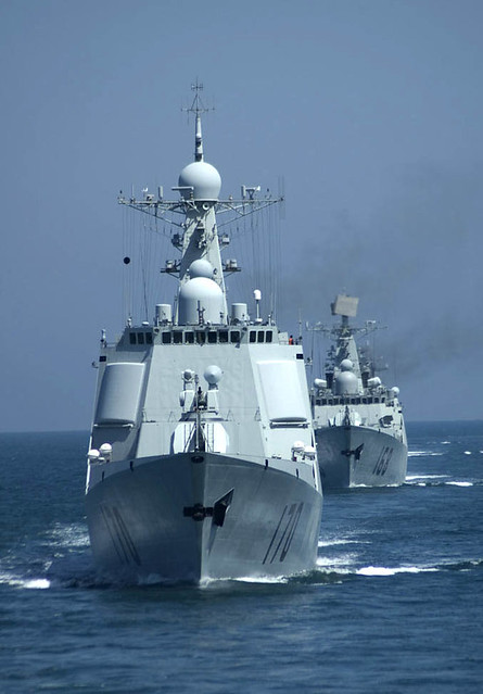 China Navy Ships Military http://www.flickr.com/photos/acstudio/5031316115/