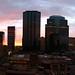 Small photo of Downtown Edmonton Sunrise