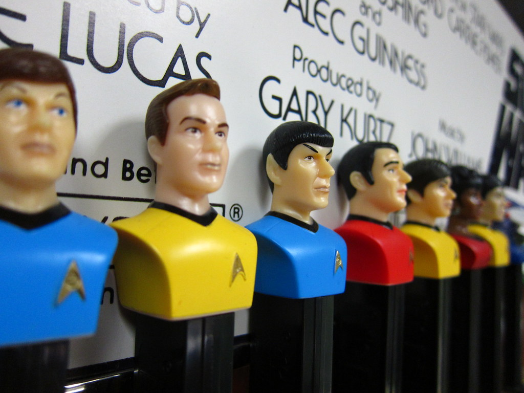 Pez Heads: Star Trek