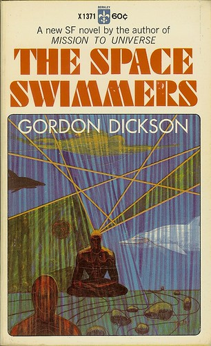 Gordon R. Dickson - The Space Swimmers - Book 2 Sea People - cover artist Richard Powers