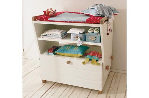 Cambiadores para beb s mueble cambiador para beb de la for Mueble cambiador para bebe
