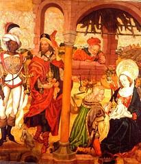 Adoration des Mages Musée d'Unterlinden