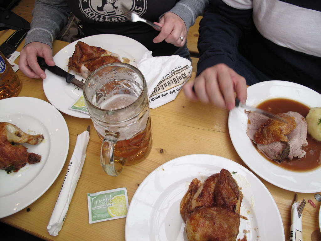 Bavarian Chicken and Beer