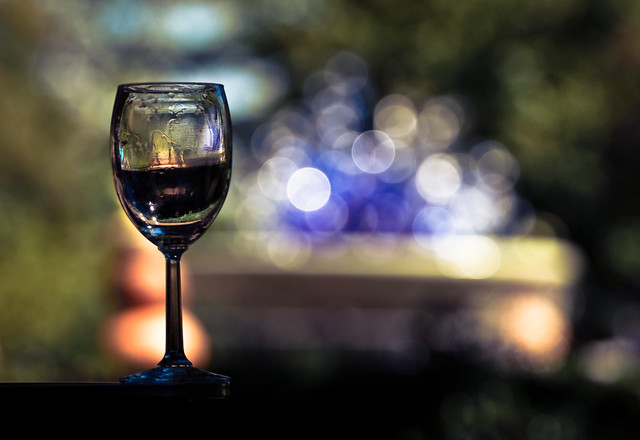 Wine Glass in the Park