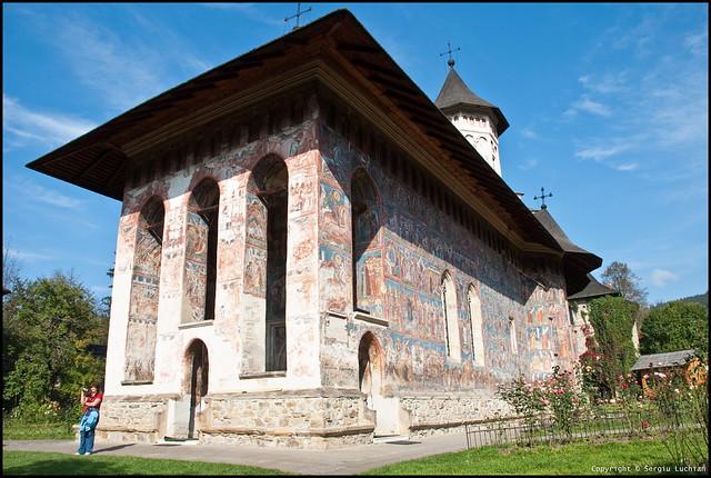 Moldovita Monastery, Suceava County, Romania.