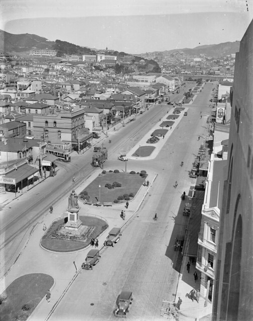 Southern part of Kent and Cambridge Terraces, Wellington, [ca 1931]
