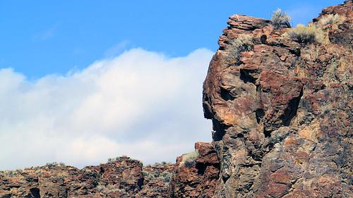 sky nature rock landscape