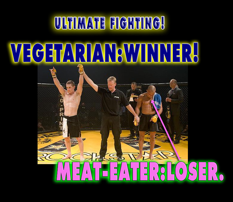 VEGETARIAN MMA UFC Vegan Fighter Mac Danzig TUF Winner and Ripped Muscle without Meat