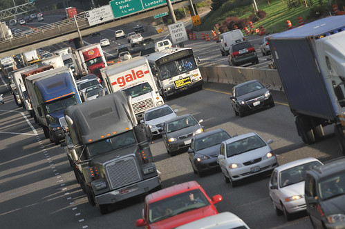 traffic on i-5 -1
