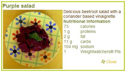 Healthy Way To Lose Weight Purple Salad by Fit2GoBlog