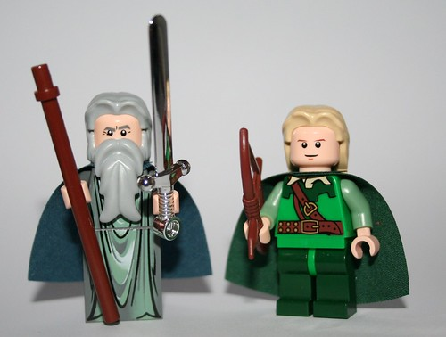 Gandalf and Legolas go (more) movie accurate
