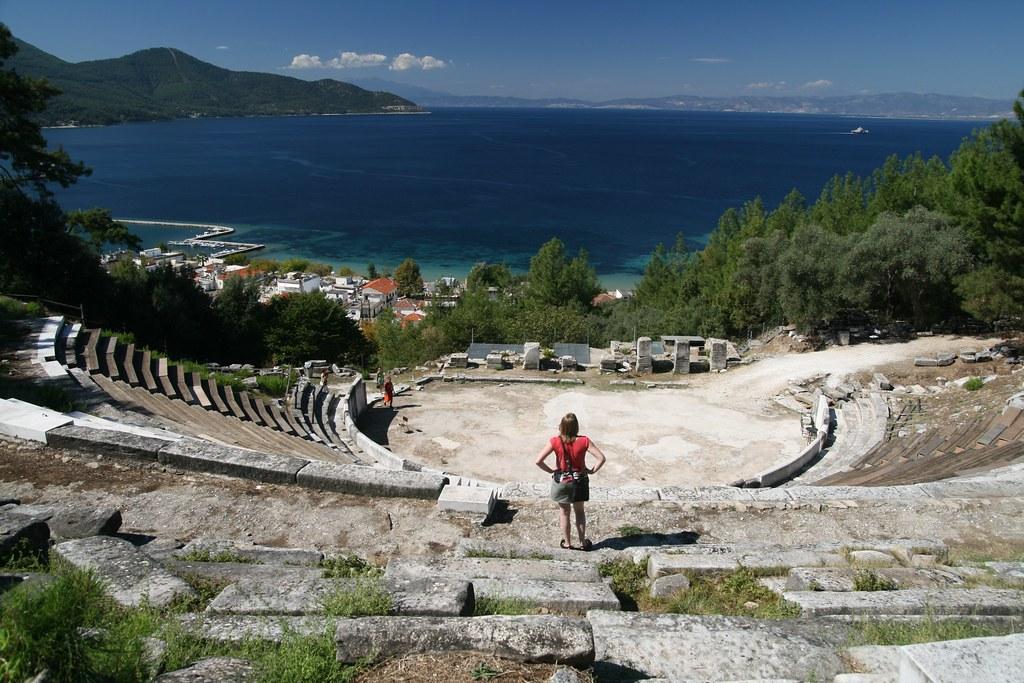Limenas Amphitheatre, Thasos