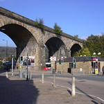 Todmorden Viaduct and Bus Station