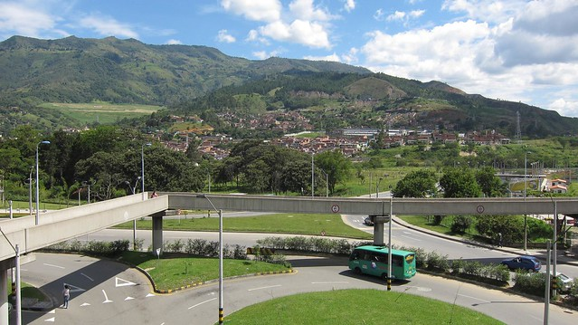 The mountains around Niquia, just north of Medellin