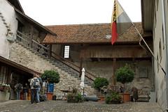 Entrance, Thun castle