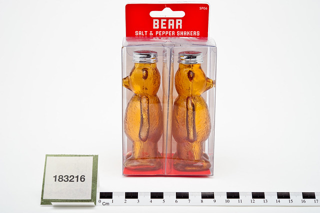 Bear Salt and Pepper Shakers