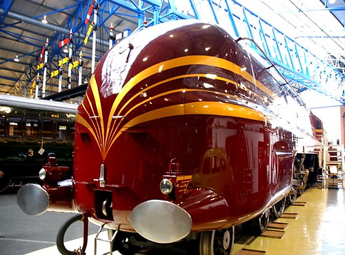 Duchess of Hamilton - cool train made 1938