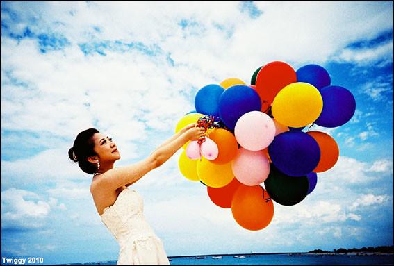 Film x Lomo Pre-Wedding Photo - Enix ❤ Peggy *1