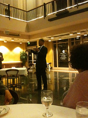 sacramento mayor kevin johnson talking about importance of libraries and the awesomeness of Rivkah Sass