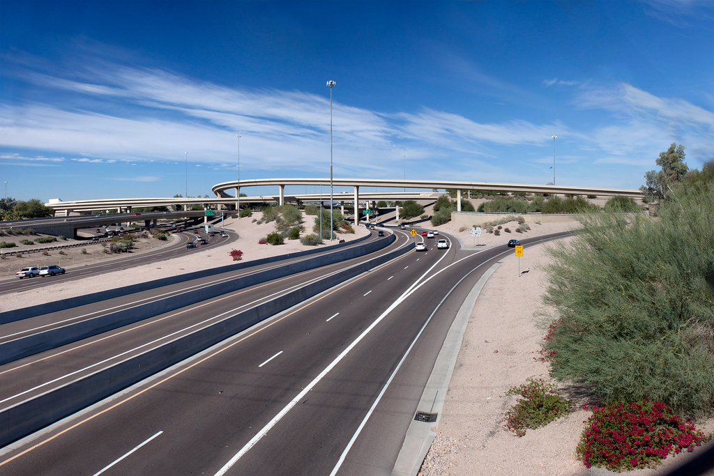 """Mini Stack"" Interchange of Interstate 10, Loop 202, and State Route 51 (7)"