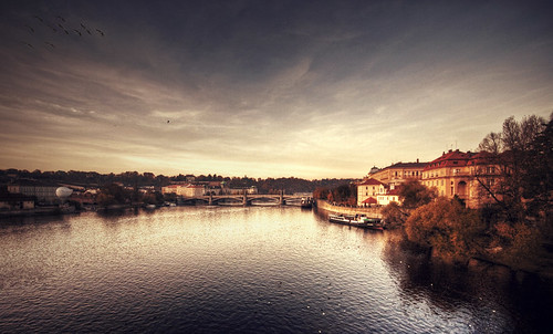 Prague - by this river