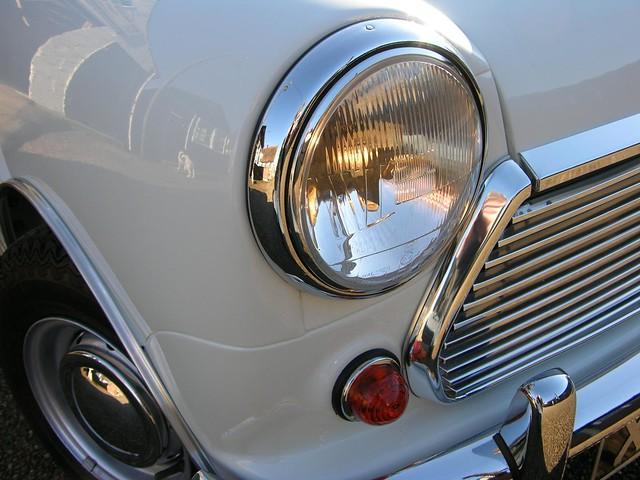Mini Cooper Headlight Trim Rings