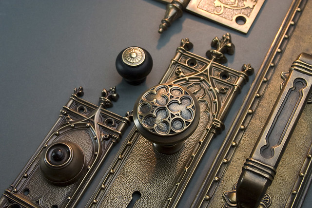 Collection Of Gothic Revival Hardware The Light Glints