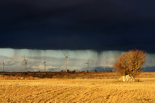 lluvia valle viento otoño burgos molinos rocio santibañez skartxa
