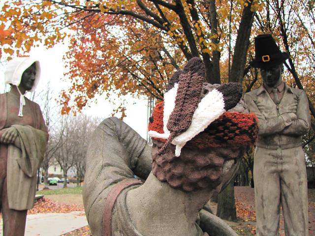 Thanksgiving Yarnbomb