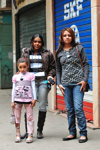 Girls in Cairo, Egypt