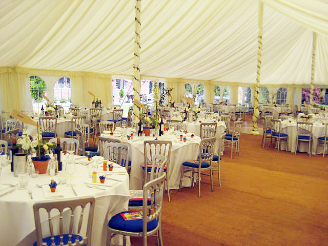 Traditional marquee interior flickr photo sharing for Indoor marquee decoration