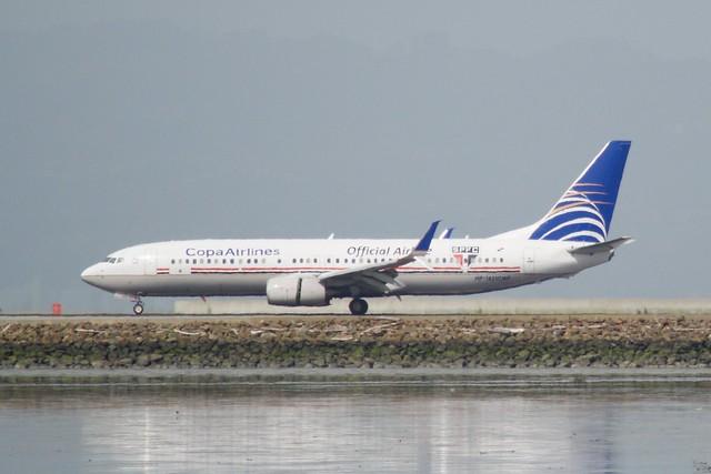 Copa Airlines Boeing 737 -800 HP-1831CMP DSC_0070