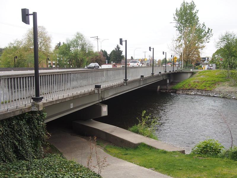 Logan Avenue Cedar River Bridge