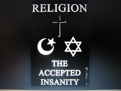 religion the accepted insanity
