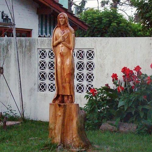 Maria, #talla en #madera #art #artwork #escultura #sculpture #artist #arte #artistic #religious #religion #wood #woodworking
