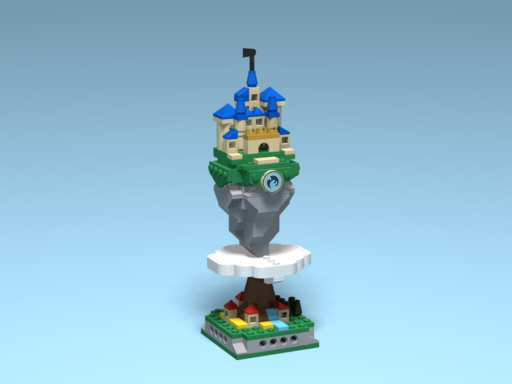 Castle (custom built Lego model)