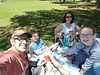 Holly's contact choice for Mother's Day lunch?  Picnic at the Park