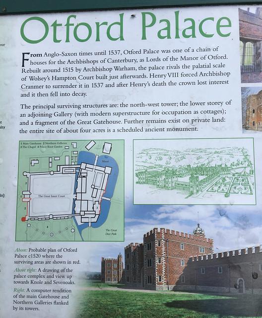Otford Palace Info