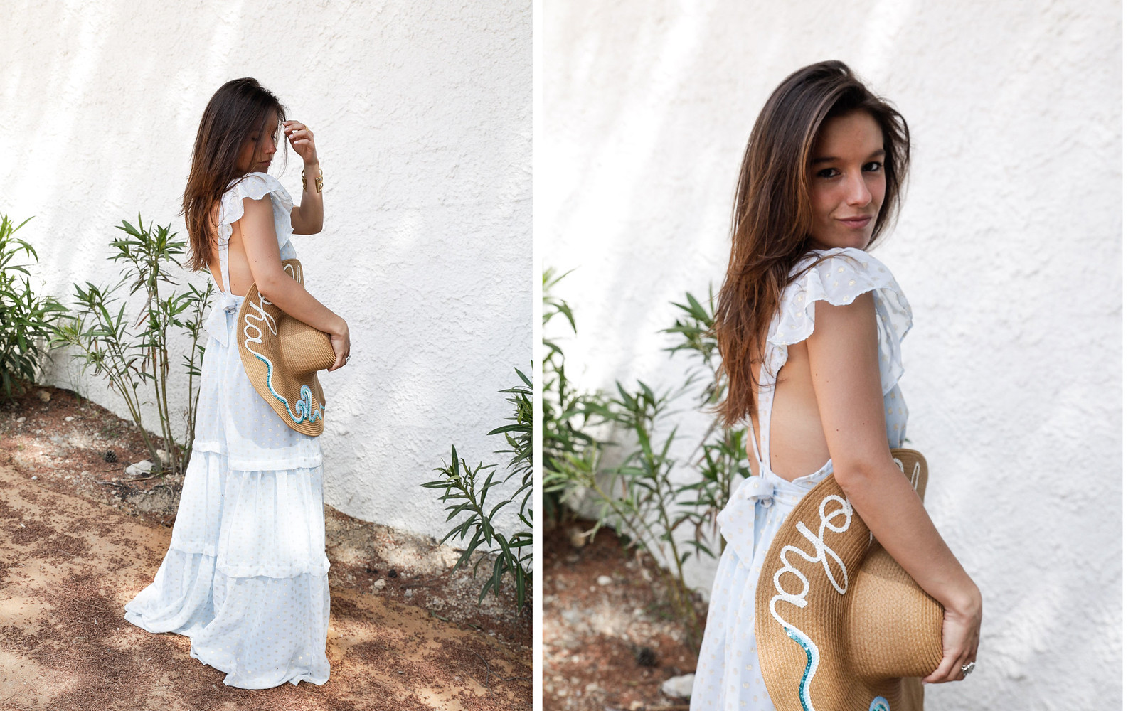 010_golden_dots_lunares_dorados_vestido_azul_boho_deby_debo_long_dress_theguestgirl_influencer_barcelona_style_content_creator_fashion_spain