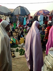 Hausa girls in Dutse Market, Dutse, Abuja, Nigeria. #JujuFilms