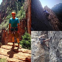 Meet our Sponsor Relations VP Spencer! He's always up for an adventure. We love having him on our team! #adventure #aggieclimbing #utahstate #outdoors http://ift.tt/1KFWsIe