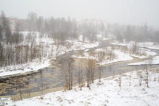 Snow Falls in April