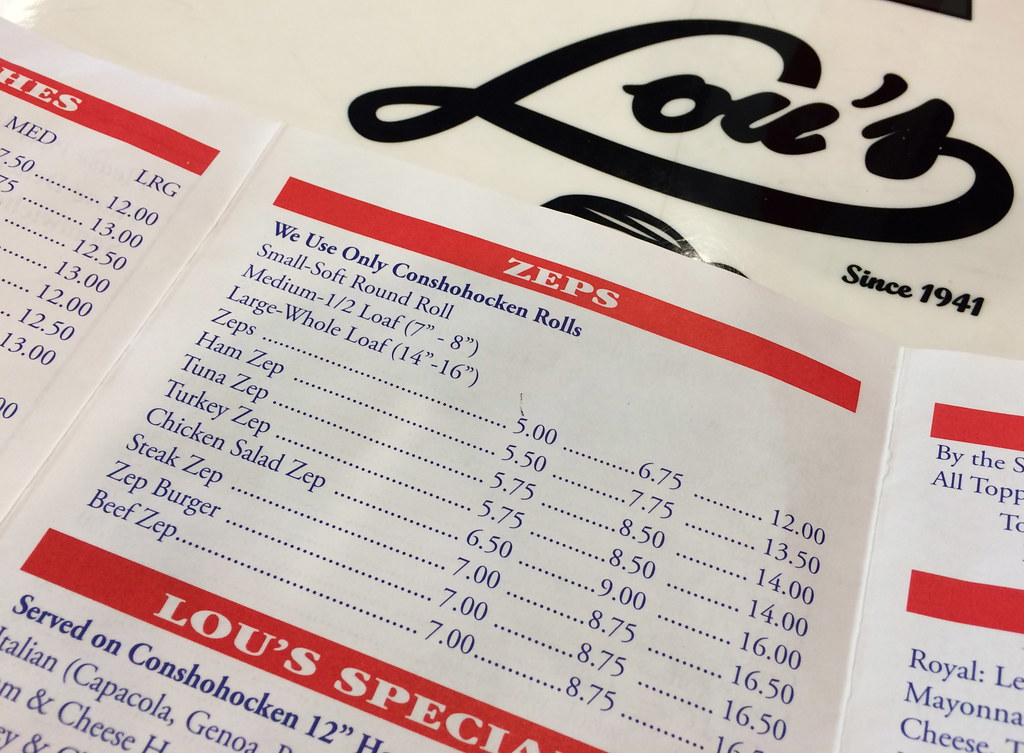 Lou's Sandwich Shop Norristown PA - Pennsylvania - Retro Roadmap