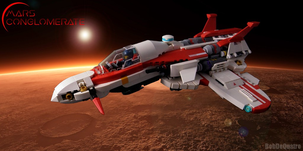 DF-47 – Hawk (custom built Lego model)